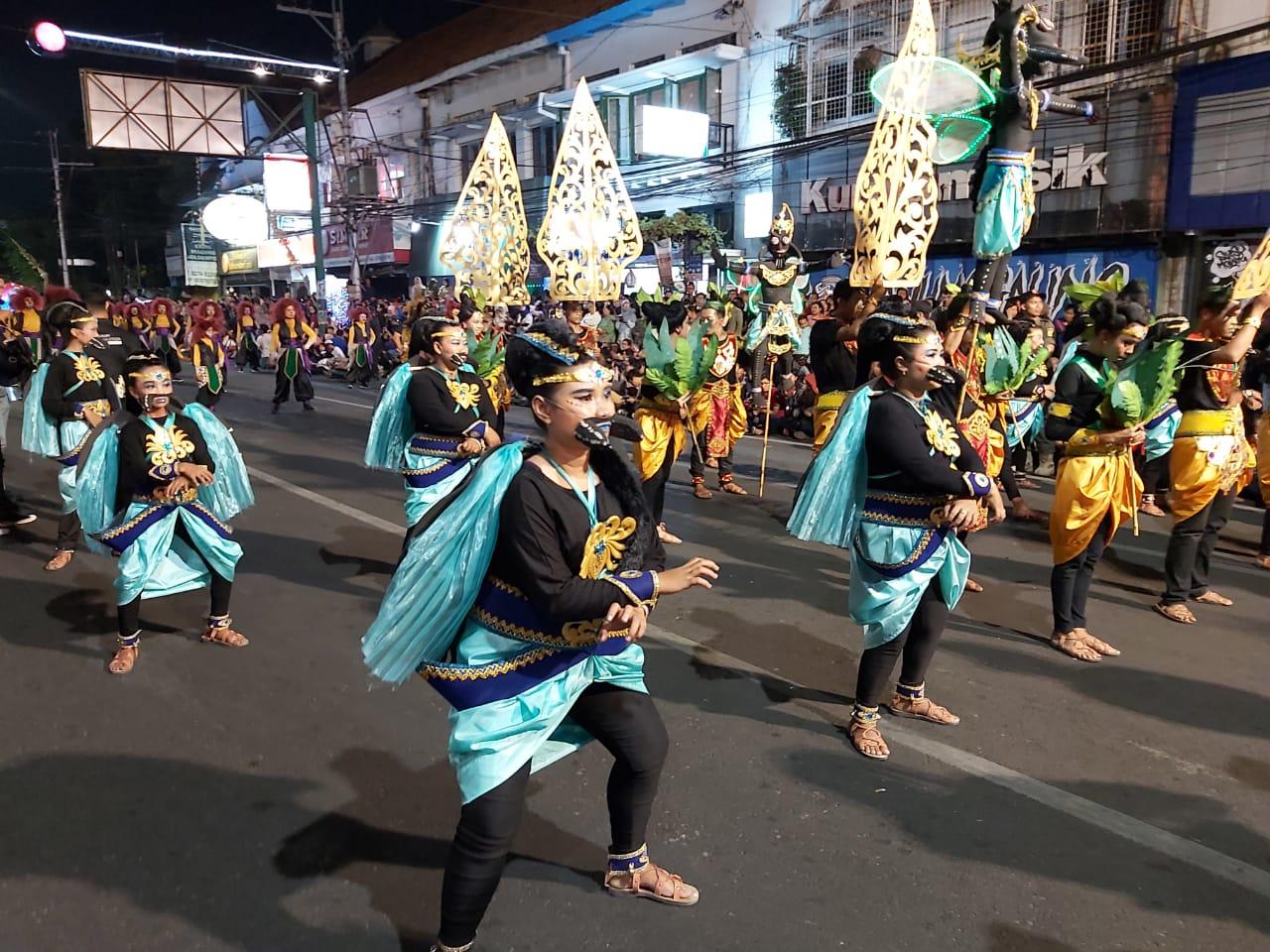 PERFOMANCE WJNC#4 TH 2019 DALAM RANGKA HUT KOTA YOGYAKARTA KE 263